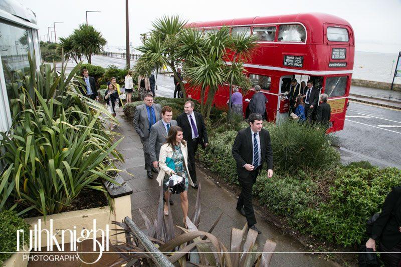 St John's Southend & Roslin Beach Hotel, Thorpe Bay, Essex Wedding Photographers – Ali & Chris