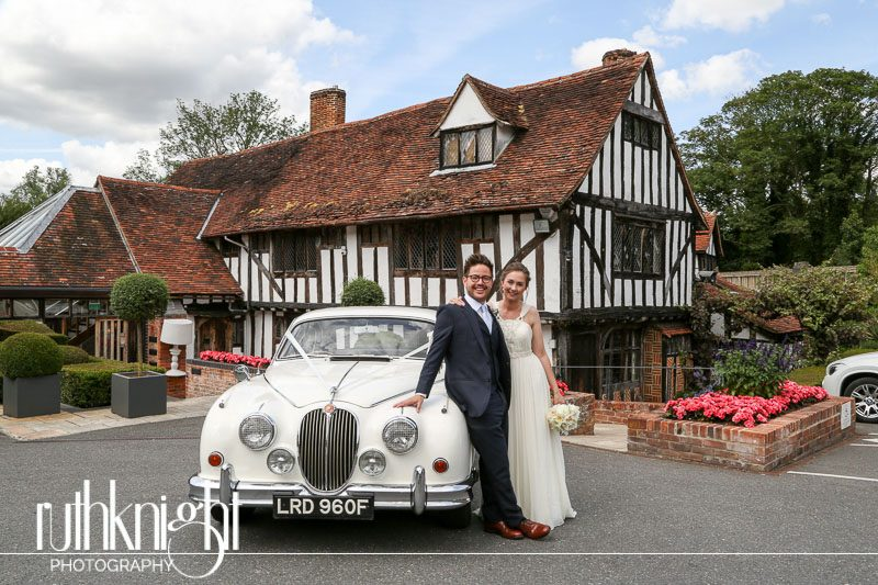 Essex Wedding Photographers at Fryerning Church & Le Talbooth – Sally & Phil