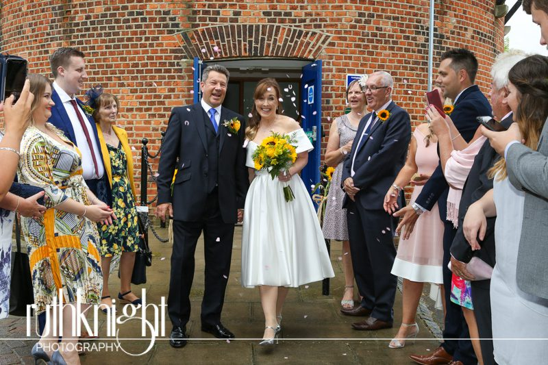 Wedding Photographer at Rayleigh Windmill in Essex. – Kerry & Colin